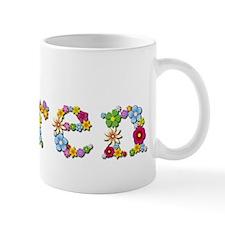 Karen Bright Flowers Mugs