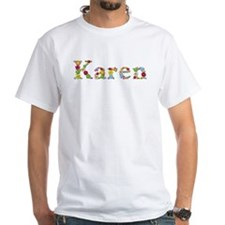 Karen Bright Flowers T-Shirt