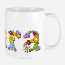 Kara Bright Flowers Mugs
