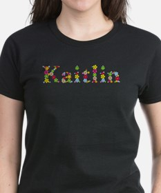 Kaitlin Bright Flowers T-Shirt