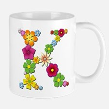 K Bright Flowers Mugs