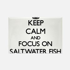 Keep calm and focus on Saltwater Fish Magnets