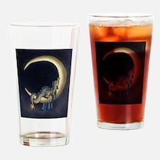 Moon Dreams Drinking Glass