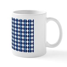 UNC Carolina Blue Basketball Argyle Mug