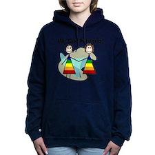We got hitched LARGE Hooded Sweatshirt