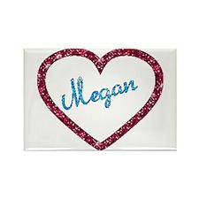 Megan Rectangle Magnet