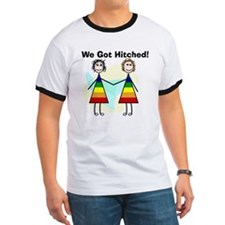 We got hitched LARGE T