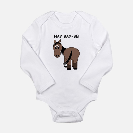 Hay Bay-Be! Horse Body Suit