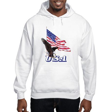 USA Eagle Hooded Sweatshirt