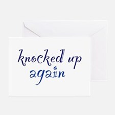 Knocked Up AGAIN Greeting Cards (Pk of 10)