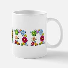 Joann Bright Flowers Mugs