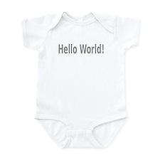 Hello World! Onesie