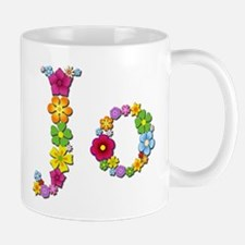 Jo Bright Flowers Mugs
