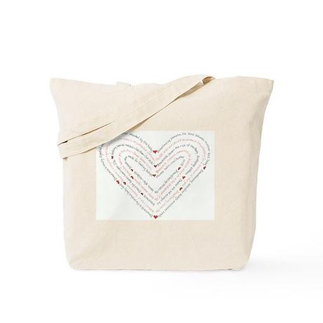 Breastfeeding Heart: Tote Bag