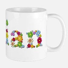 Jillian Bright Flowers Mugs