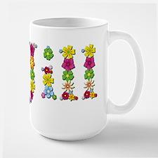 Jill Bright Flowers Mugs