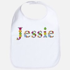 Jessie Bright Flowers Bib