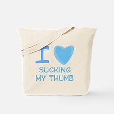 I Heart (Love) Sucking My Thumb Tote Bag