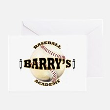 Barry's Baseball 1 Greeting Cards (Pk of 10)