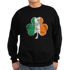 Vintage Irish Flag Shamrock Jumper Sweater