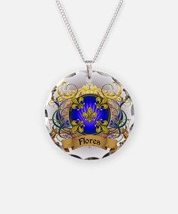 Flores Family Crest Necklace