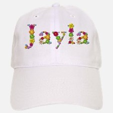 Jayla Bright Flowers Baseball Baseball Baseball Cap