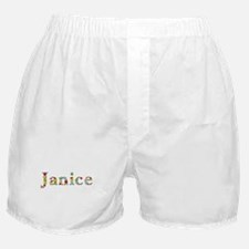 Janice Bright Flowers Boxer Shorts