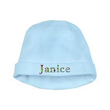 Janice Bright Flowers baby hat
