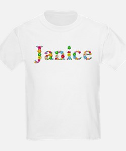 Janice Bright Flowers T-Shirt