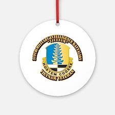 Army - 319th Military Intelligence Battalion Ornam