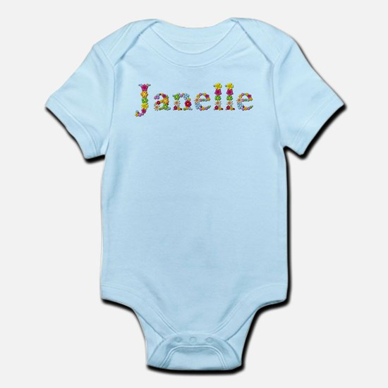 Janelle Bright Flowers Body Suit