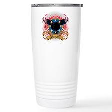 Garcia Family Crest Travel Mug