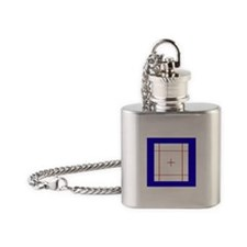 Trampoline Bed Flask Necklace