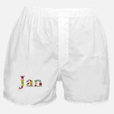Jan Bright Flowers Boxer Shorts