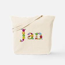 Jan Bright Flowers Tote Bag