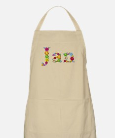 Jan Bright Flowers Apron