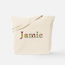 Jamie Bright Flowers Tote Bag