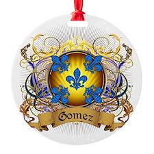 Gomez Family Crest Ornament