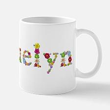 Jacquelyn Bright Flowers Mugs