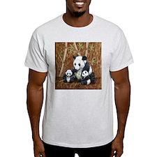 StephanieAM Panda and Cubs T-Shirt