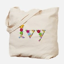 Ivy Bright Flowers Tote Bag