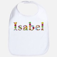 Isabel Bright Flowers Bib