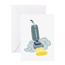Vacuum Clean Greeting Cards