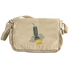 Vacuum Clean Messenger Bag