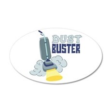 Dust Buster Wall Decal