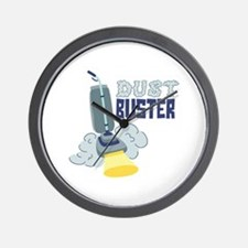 Dust Buster Wall Clock