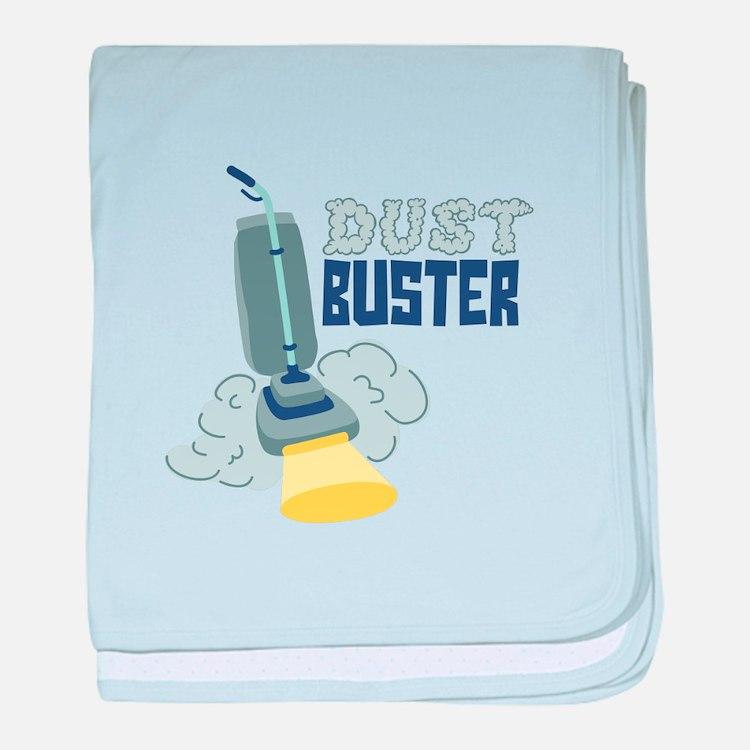 Dust Buster baby blanket