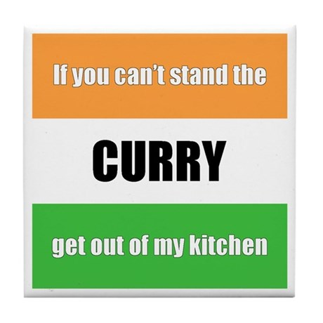 Curry Lover Tile Coaster