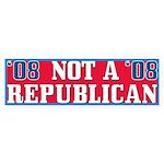 08 Anti-Republican Bumper Sticker