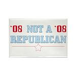 08 Anti-Republican Rectangle Magnets (100 pk)